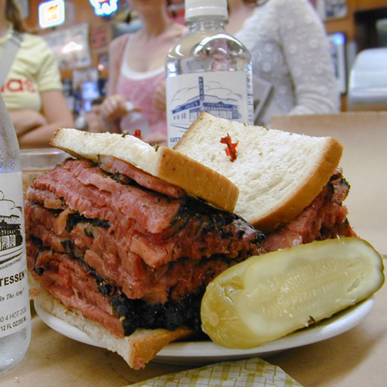 Katz's Delicatessen; New York City