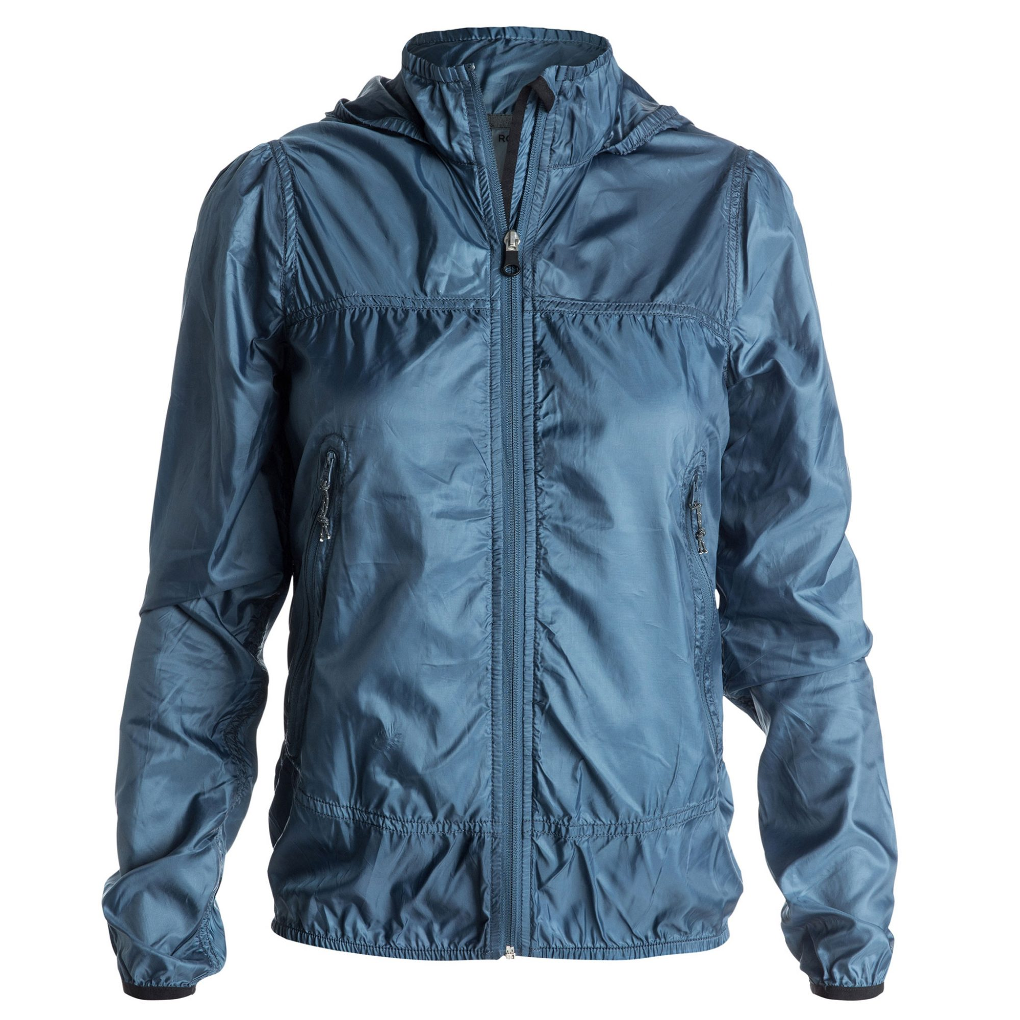 Roxy's Rain Runner Hooded Windbreaker