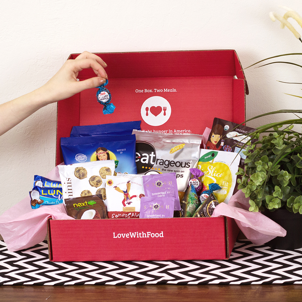 FWX LOVE FOR FOOD DELUXE BOX GRABS