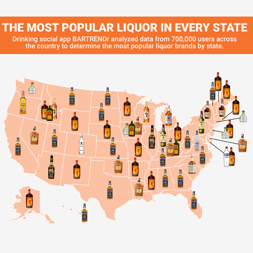 FWX MOST POPULAR LIQUOR IN EVERY STATE MAIN