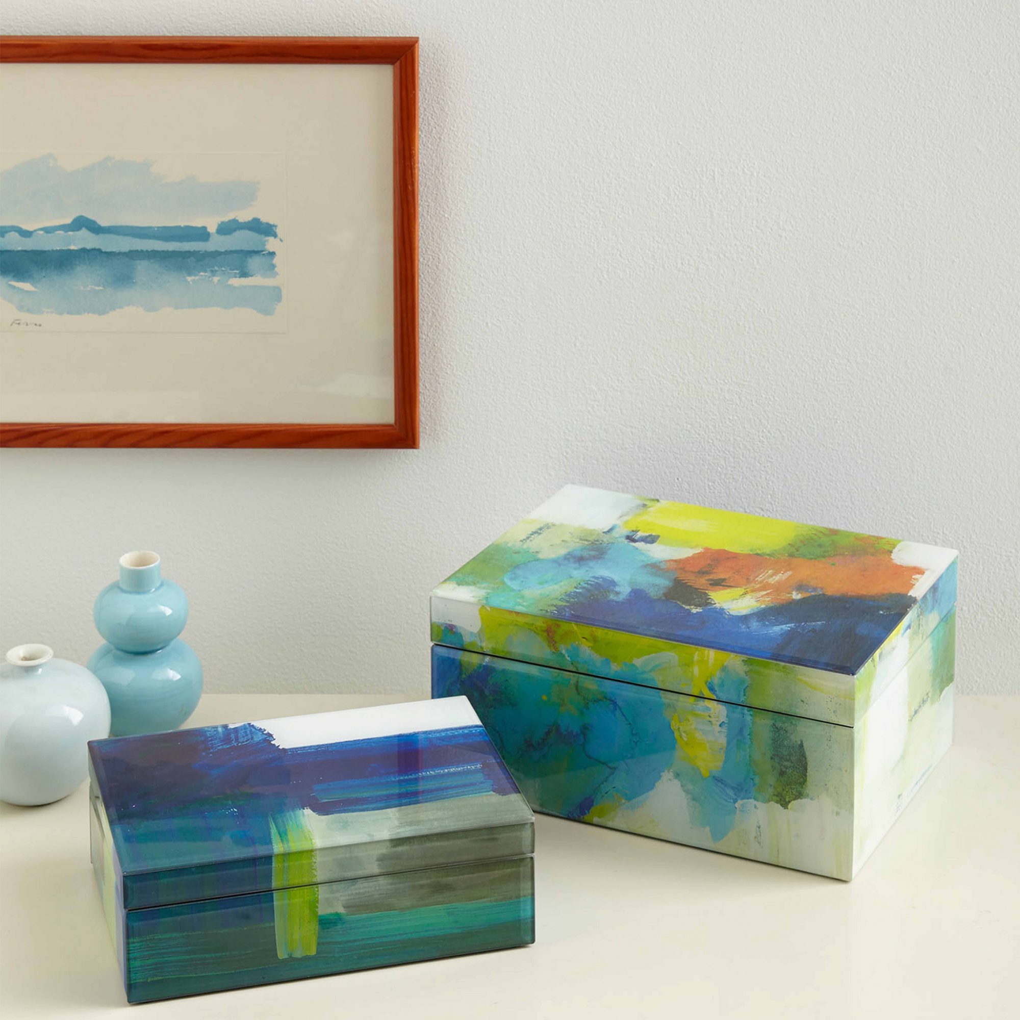 Sarah Campbell Abstract Box