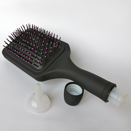 Bev-Brush Paddle Brush Flask