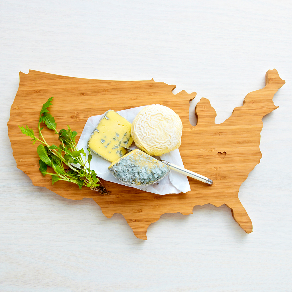 AHeirloom USA Cutting Board