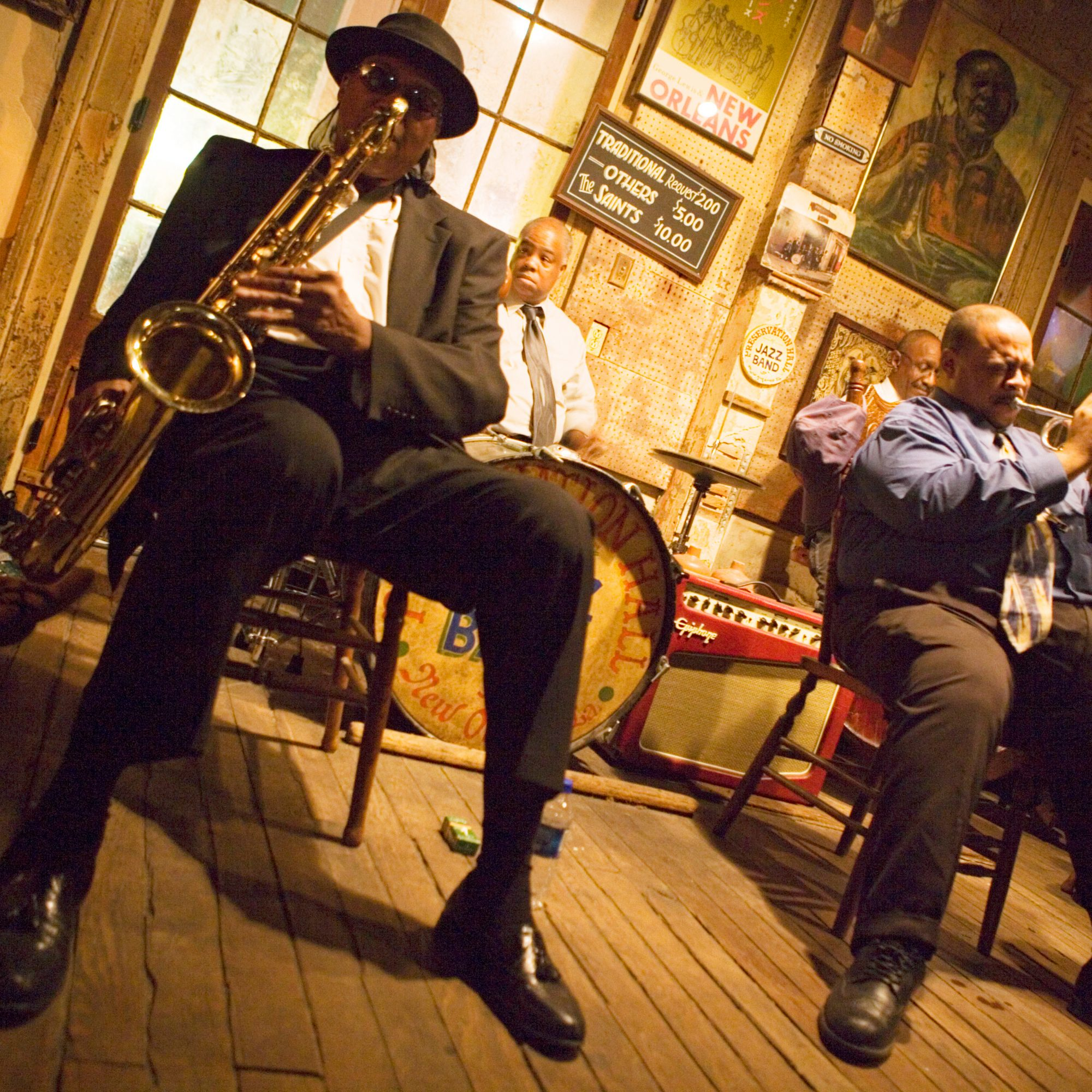 FWX NOLA BEST MUSIC VENUES PRESERVATION HALL