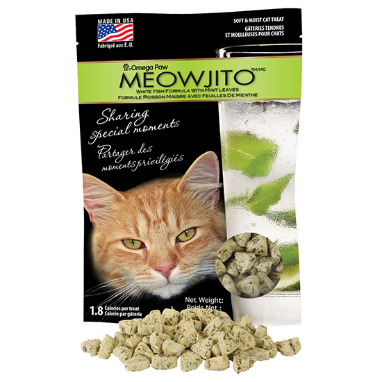 FWX OMEGA CAT TREATS MEOWJITO