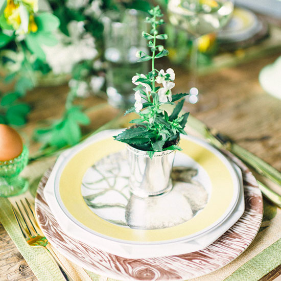 Gift your guests something green
