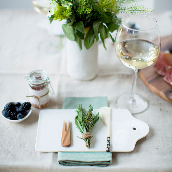 Rethink the place setting