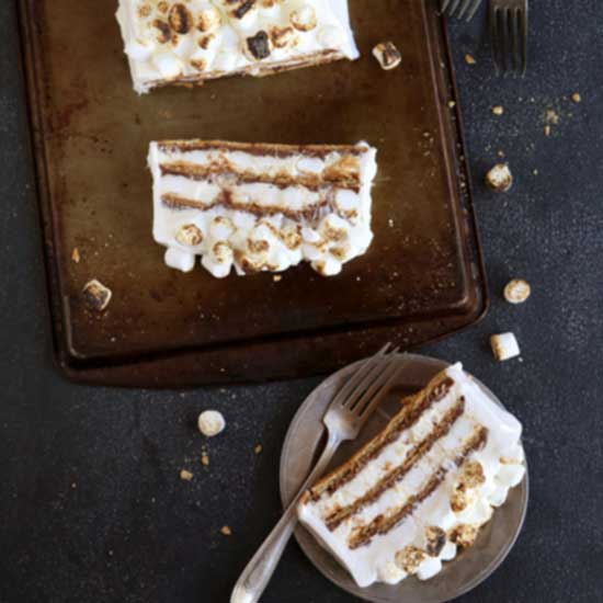 S'mores No-Bake Icebox Cake