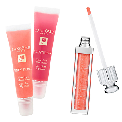Then: Lancome Juicy Tubes