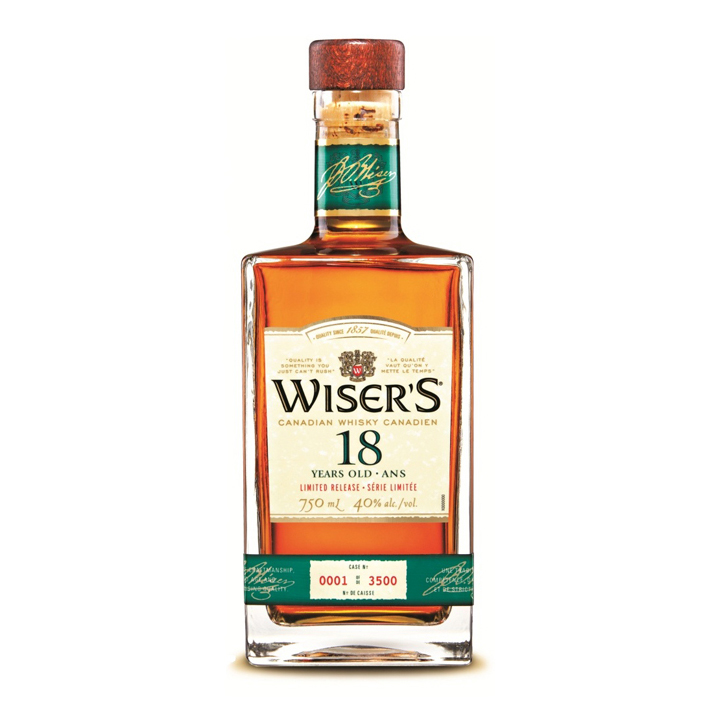 JP Wiser's 18 Year Old Canadian Whisky ($63)