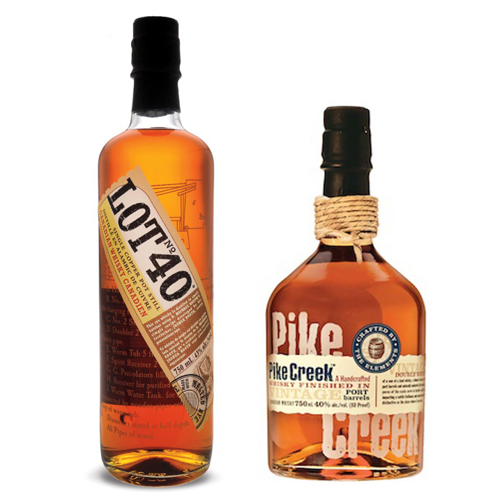 Lot No. 40 ($55) and Pike Creek ($35)