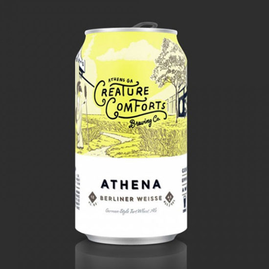 Athena Berliner Weisse, Creature Comforts Brewing Co.