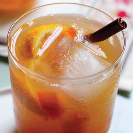 Spiced Persimmon Old Fashioned