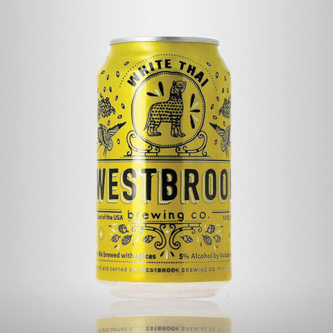 White Thai Witbier, Westbrook Brewing Co