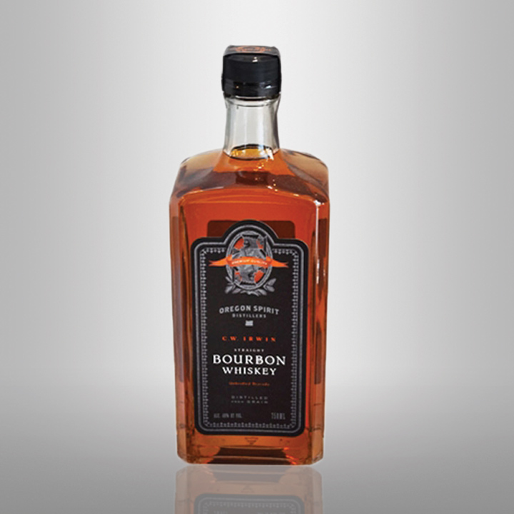 C.W. Irwin Straight Bourbon Whiskey, $30