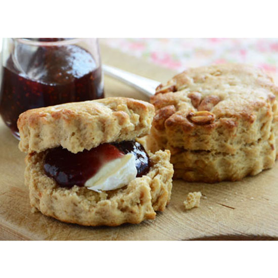 Scones with Brie