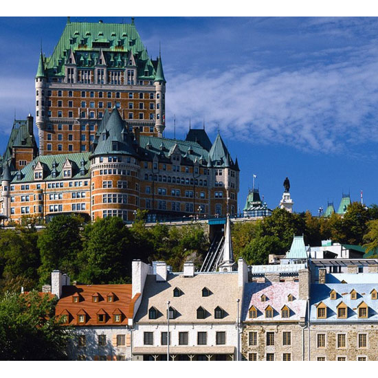 For a Parisian Feel: Quebec City, Canada