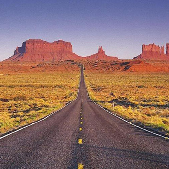 Drive Route 1 or Route 66