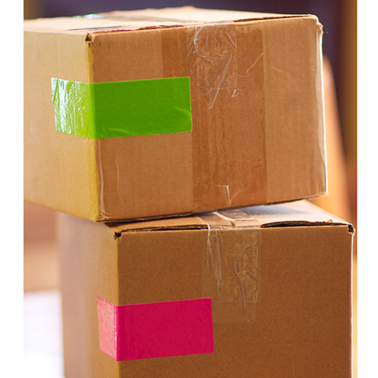Color-code your boxes