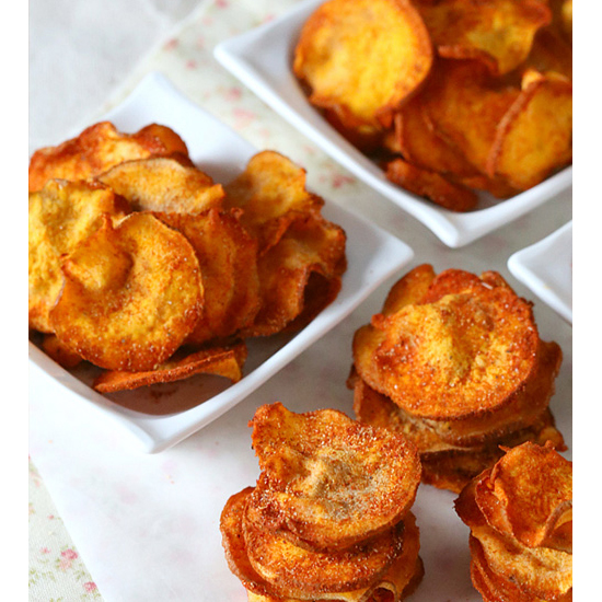 Sweet Potato Chips (5 minutes)