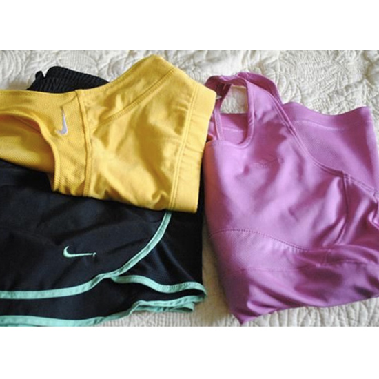 Lay Out Your Workout Clothes Next to the Bed