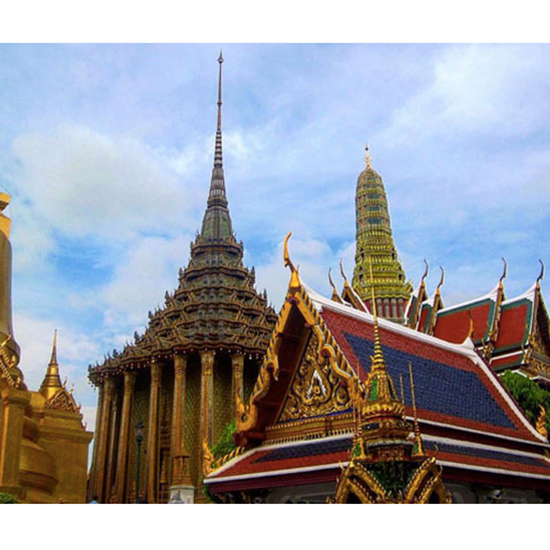 Temple of the Emerald Buddha, Thailand