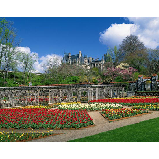 Biltmore Estate Gardens, Asheville, North Carolina