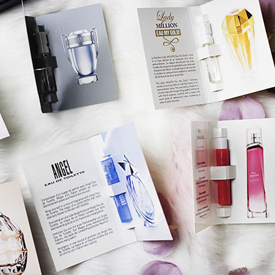 Scent Your Space with Perfume Samples