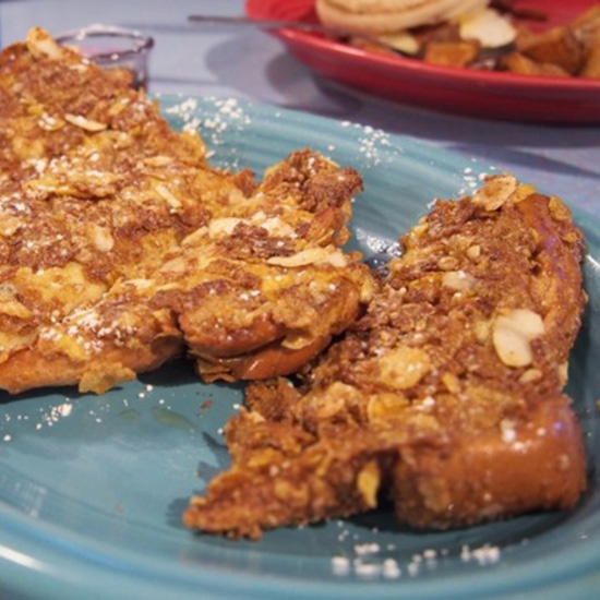 Crunchy French Toast at Johnny's Luncheonette