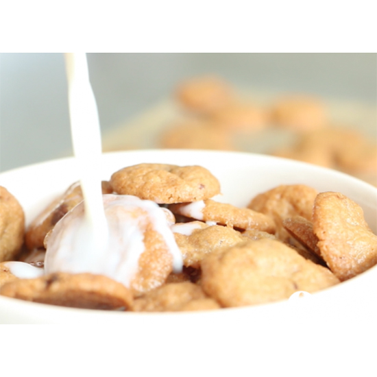 DIY Cookie Crisp Cereal