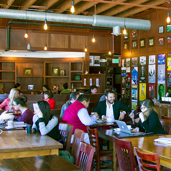 Best for Working Remotely: Zoka Coffee Roasters & Tea Co.'s Green Lake District Location