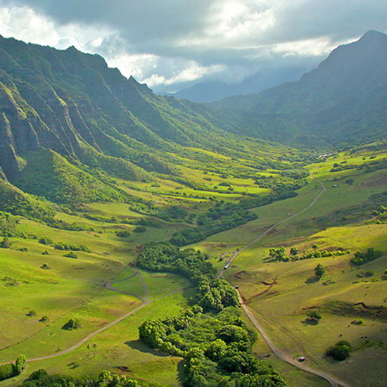 Kualoa Ranch,  Jurassic World