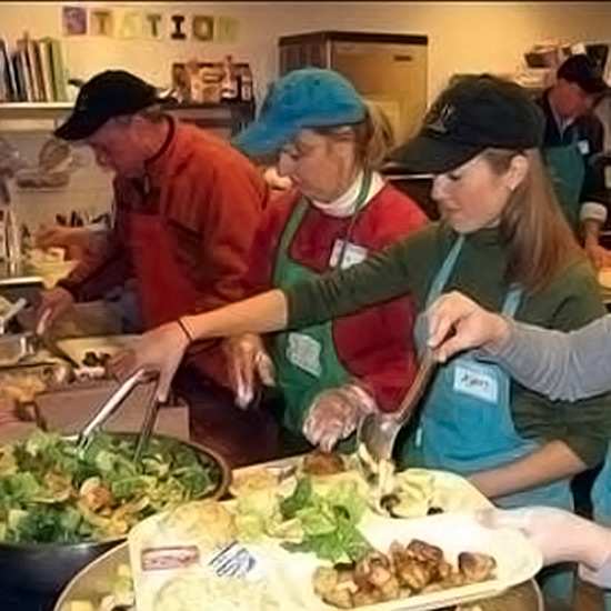 Serve Food to Needy New Yorkers