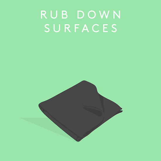 Rub Down Surfaces