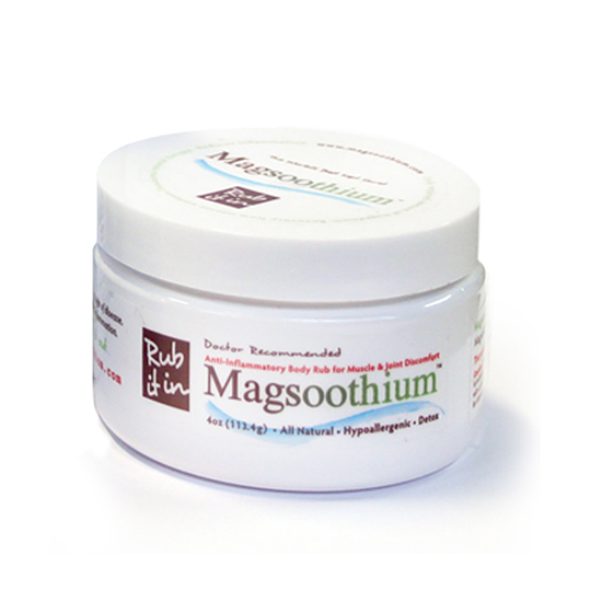 5.  Apply a Magnesium-Filled Recovery Cream