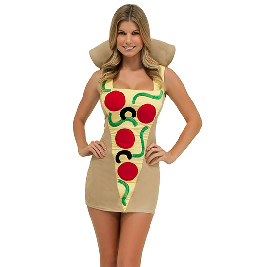 FWX SEXY FOOD COSTUMES PIZZA