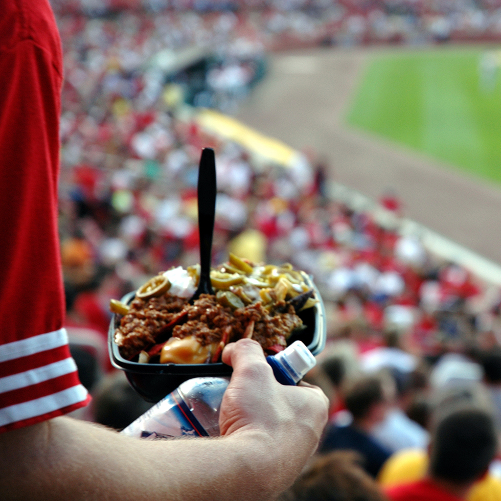 FWX STADIUM FOOD AND WHAT IT SAYS ABOUT YOU