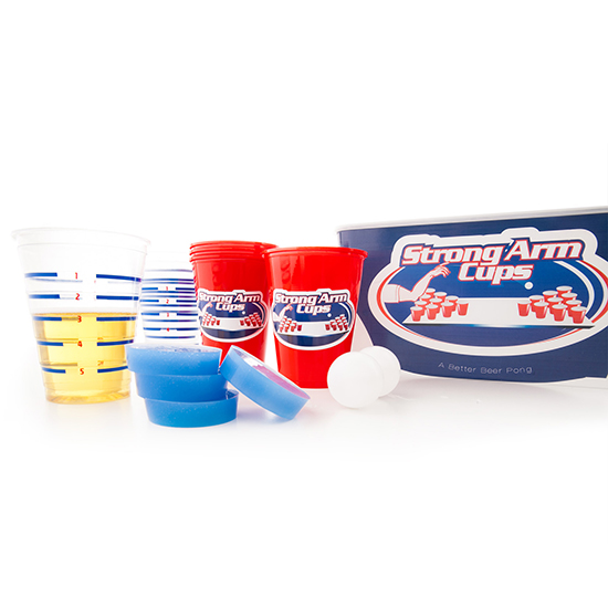 FWX STRONG ARM CUPS BEER PONG KIT