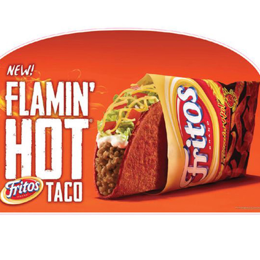 FWX TACO BELL FLAMING HOT FRITOS TACO