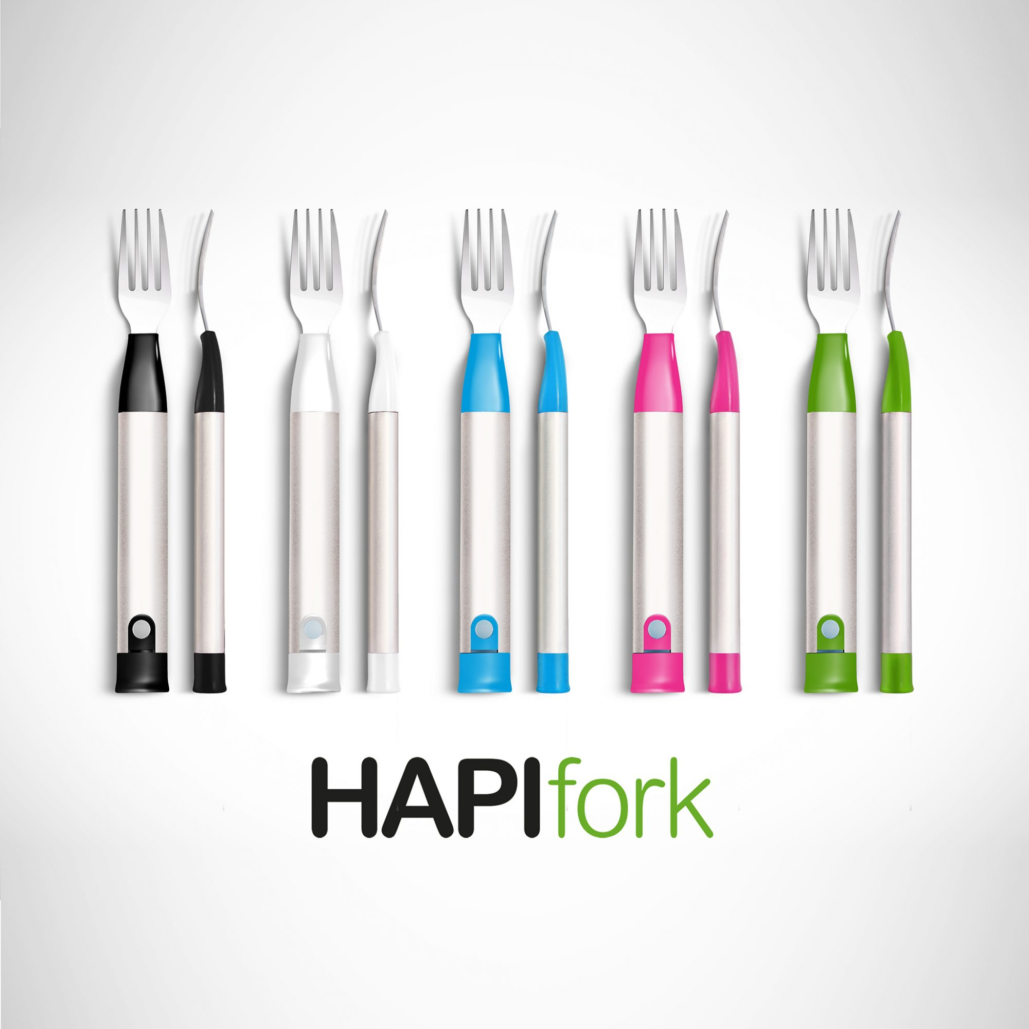 FWX THE SHOCKING FORK THAT WILL MAKE YOU EAT MORE SLOWLY HAPIFORK