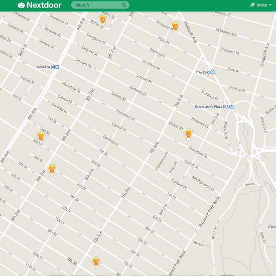 FWX TRICK OR TREAT MAP APP HALLOWEEN NEXTDOOR