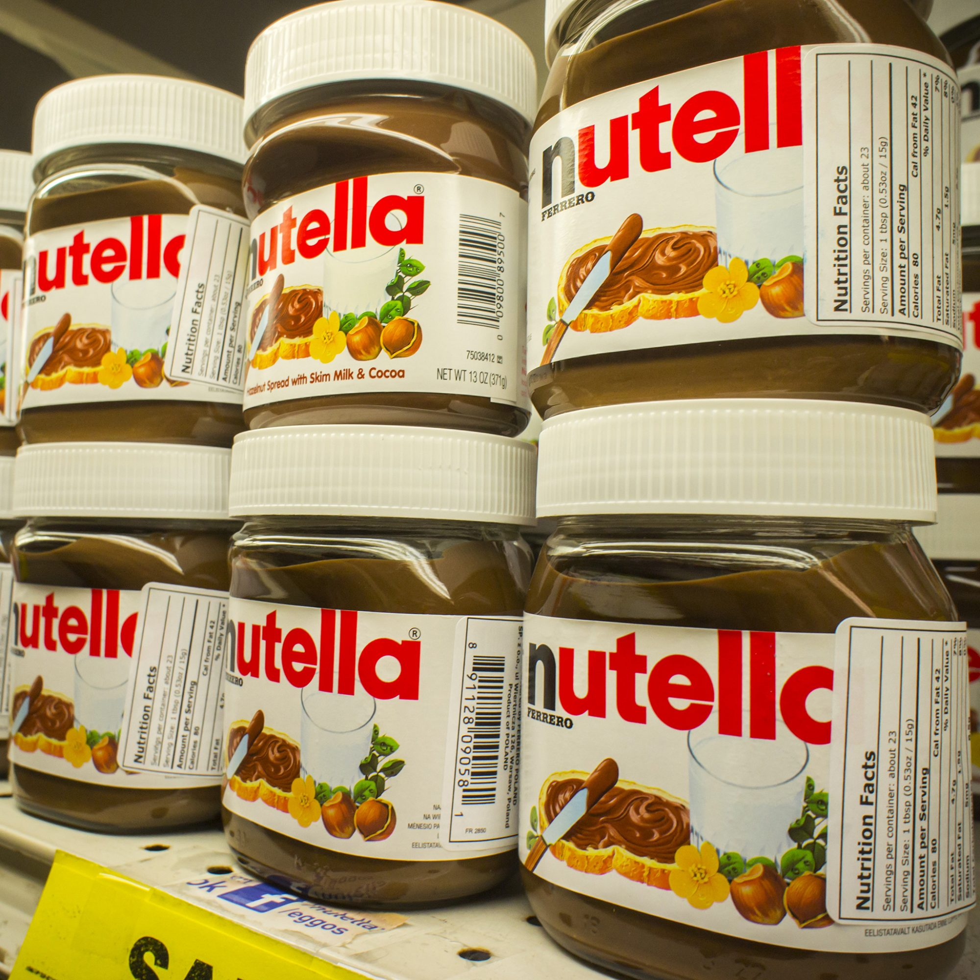 FWX WIN NUTELLA FOR A YEAR