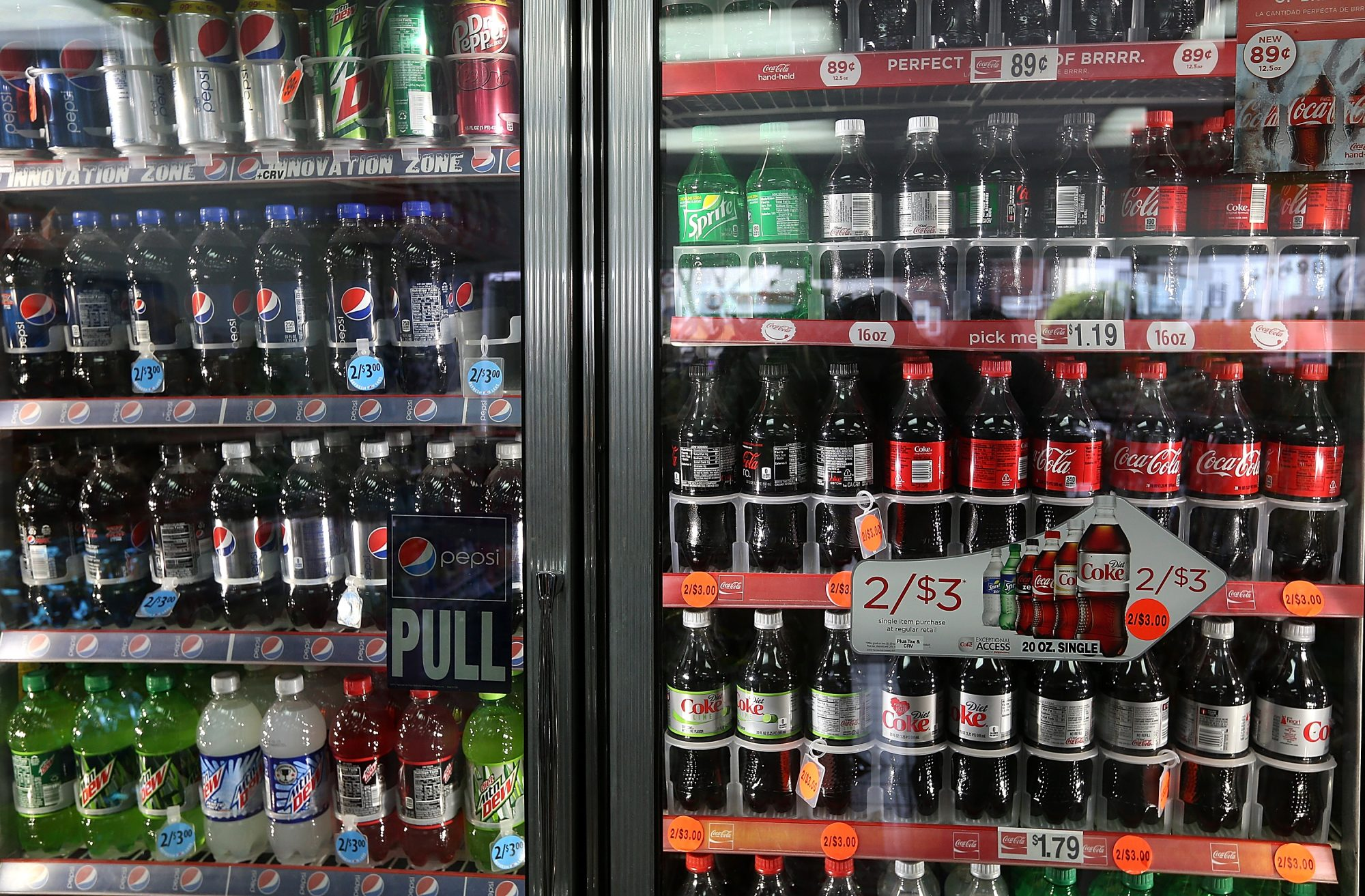 Yearly Report Shows Sales Of Soda Continues To Decline