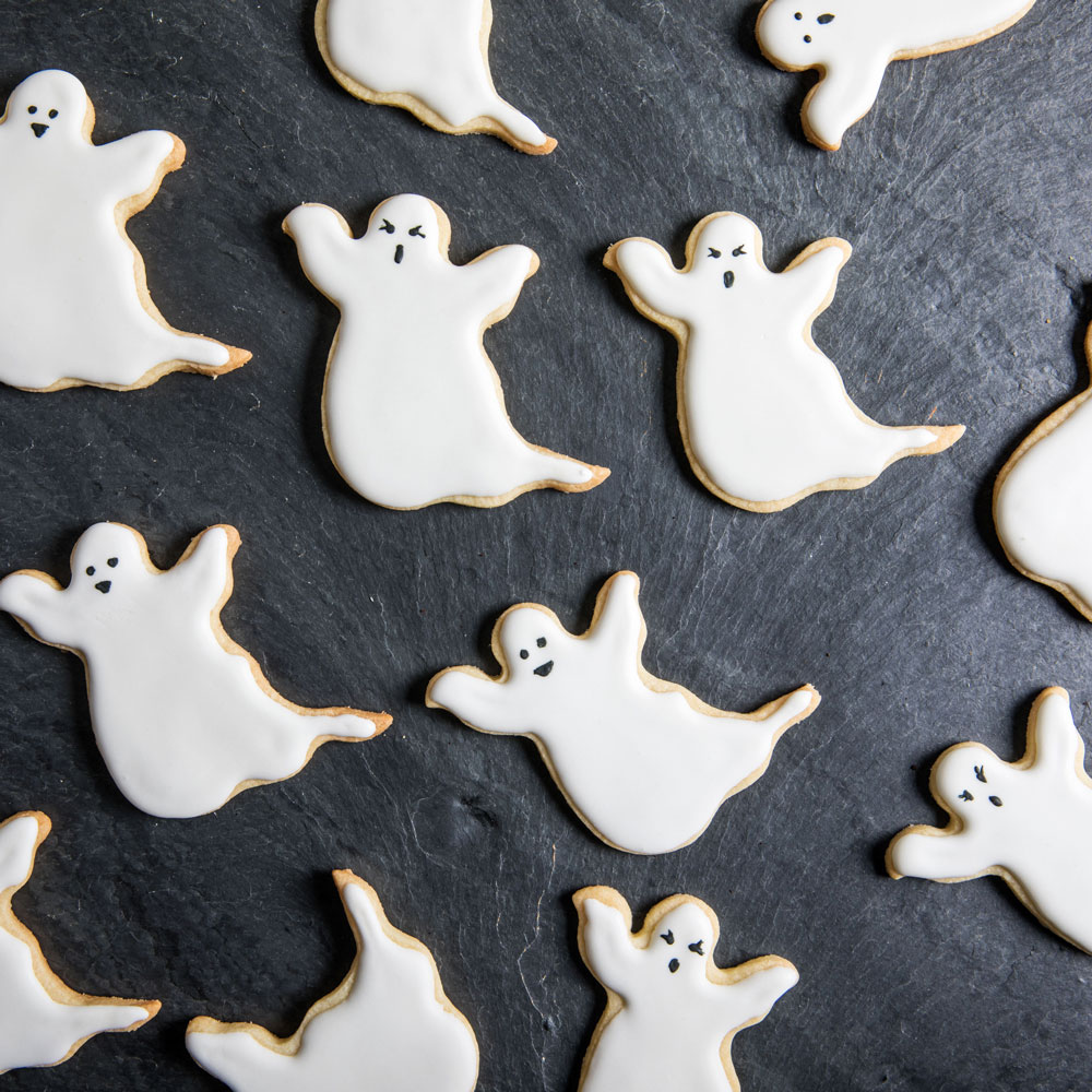 Ghostly Sugar Cookies