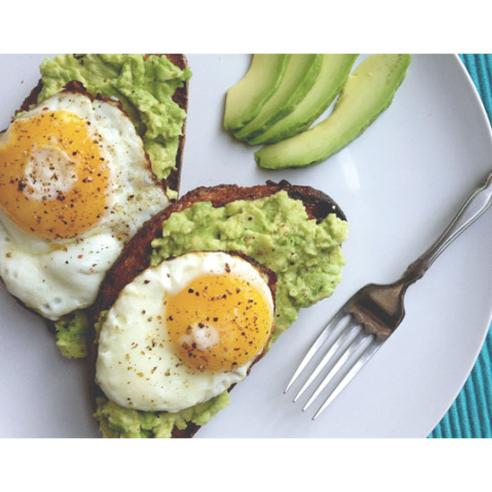 Avocado Toast with an Egg on Top
