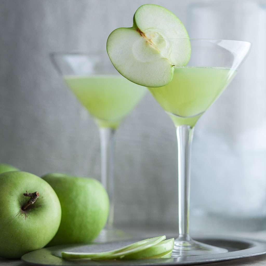 Fall, Autumn, martinis, green apple
