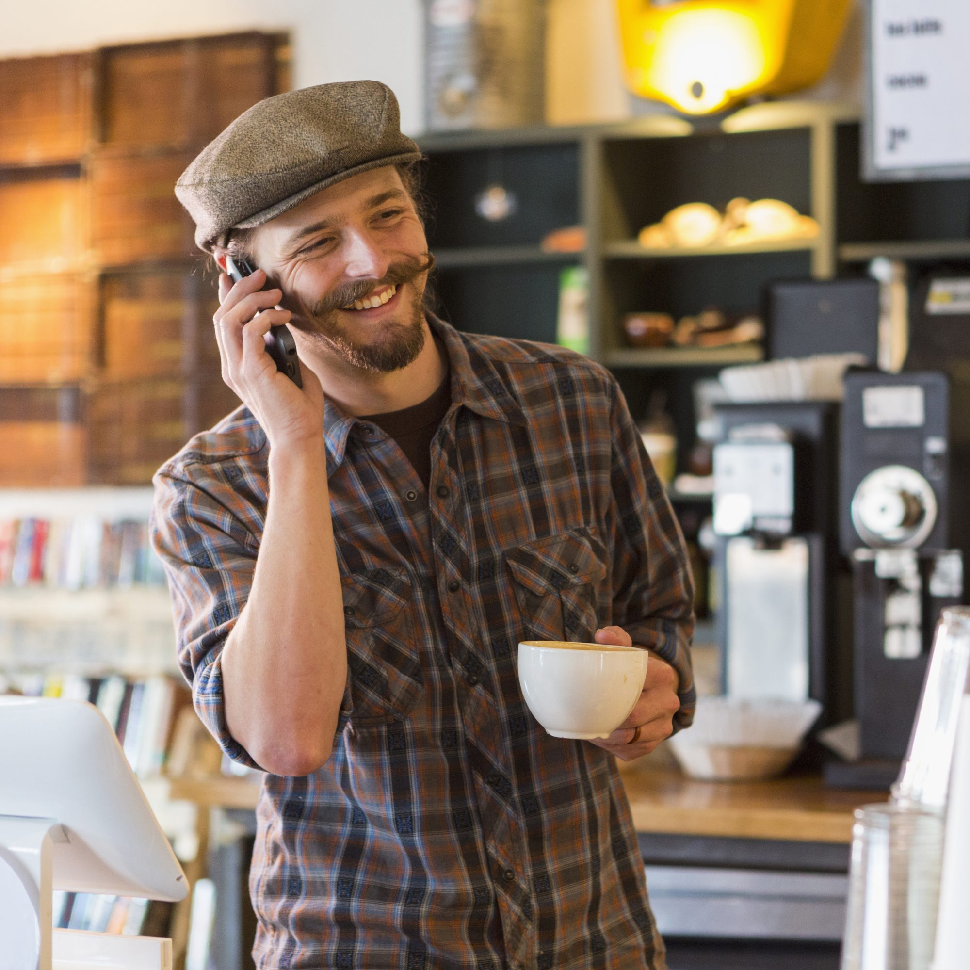 HIPSTER COFFEE SHOP NOISE FWX