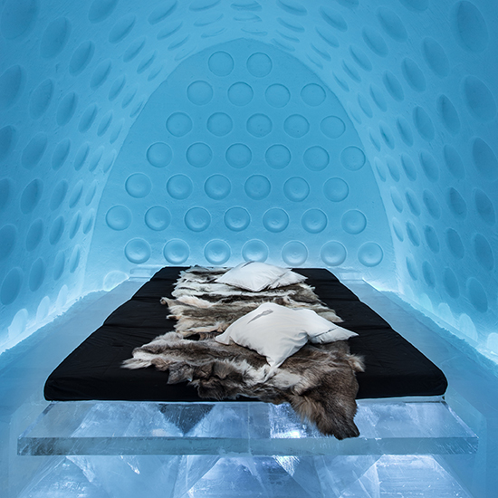 ice hotel Under the Arctic Skin