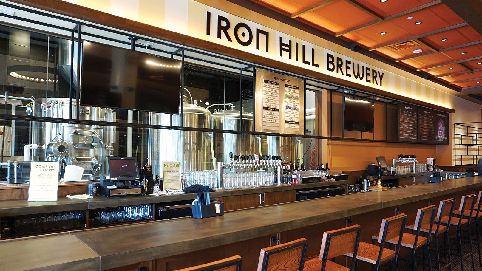 Iron Hill Brewery & Restaurant (various)