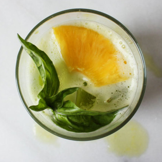 Kale, Pineapple and Basil Smash